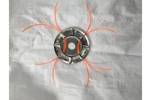 Головка павук металевий нержавійка для мотокос
