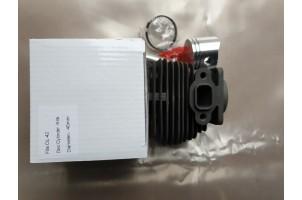 Oleo-Mac, EFCO 38/42 мотокоса циліндр в зборі 40мм Китай черна, покриття хром