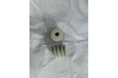 Шкив Салют 19 мм ведущий 4х ручейный термопластик