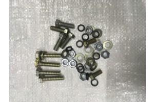 Набор болтов гаек для крепления переходной плиты и китайского двигателя.