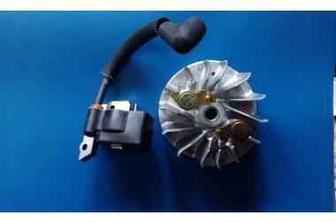 Зажигание DCS 34 + маховик 036140020